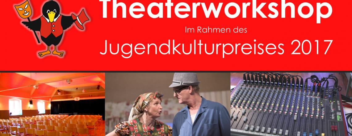 Theaterworkshop im Rahmen des Jugendkulturpreises 2017